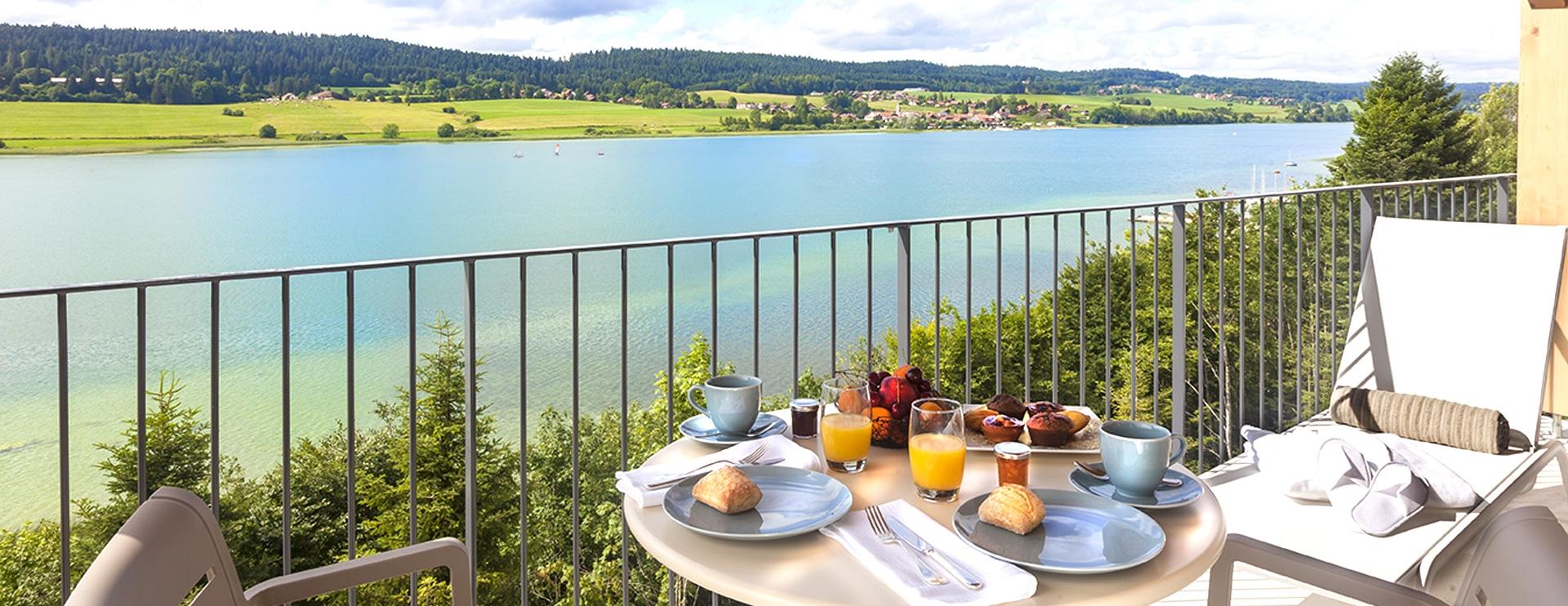 Balcon suite hôtel spa dans le Haut-Doubs