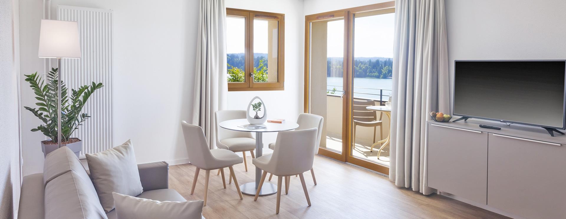 Suite appartement hôtel spa Franche-Comté Les Rives Sauvages